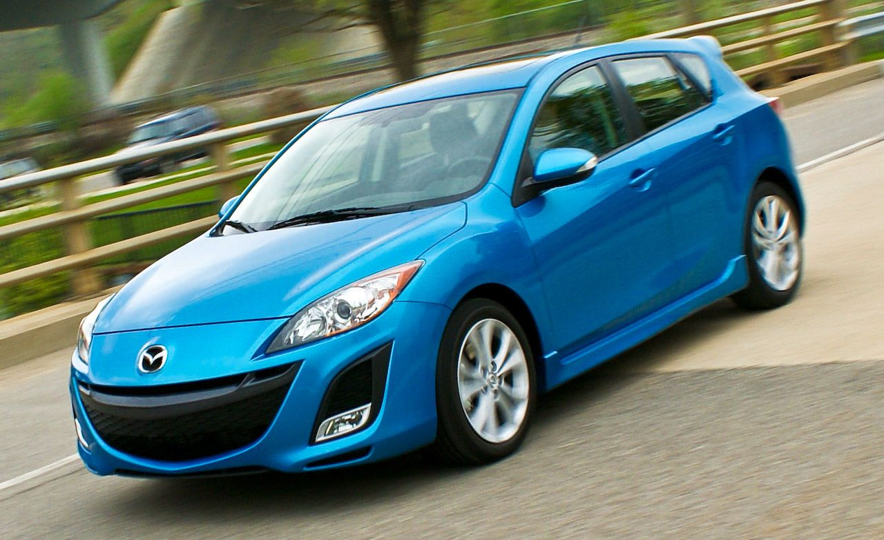 2010 mazda 3 s 5 door sport instrumented test car and driver. Black Bedroom Furniture Sets. Home Design Ideas