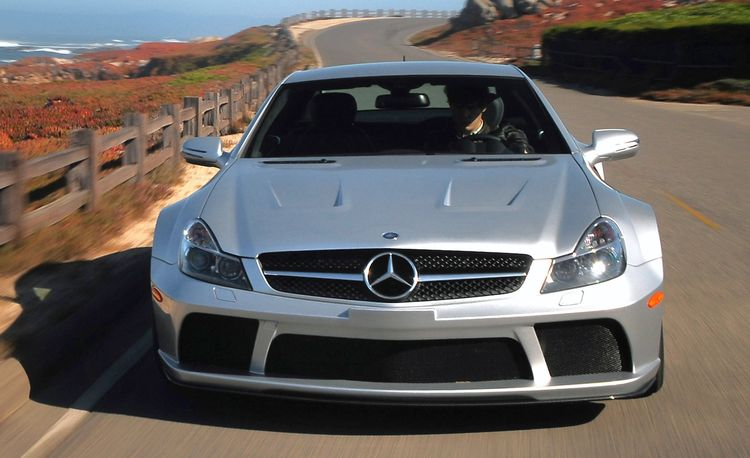 2010 Mercedes-Benz SL65 AMG Black Series Track Romp
