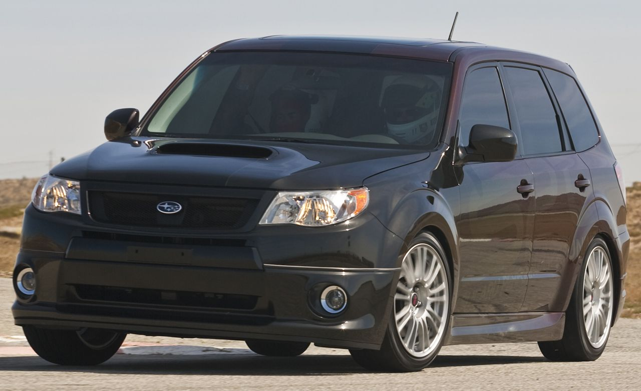 Subaru forester reviews subaru forester price photos and specs subaru forester xti concept vanachro Image collections