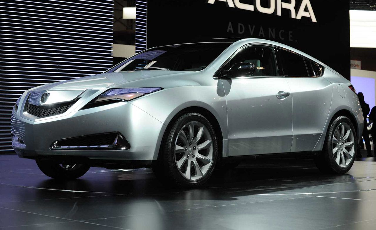 Toyota Build And Price >> 2010 Acura ZDX