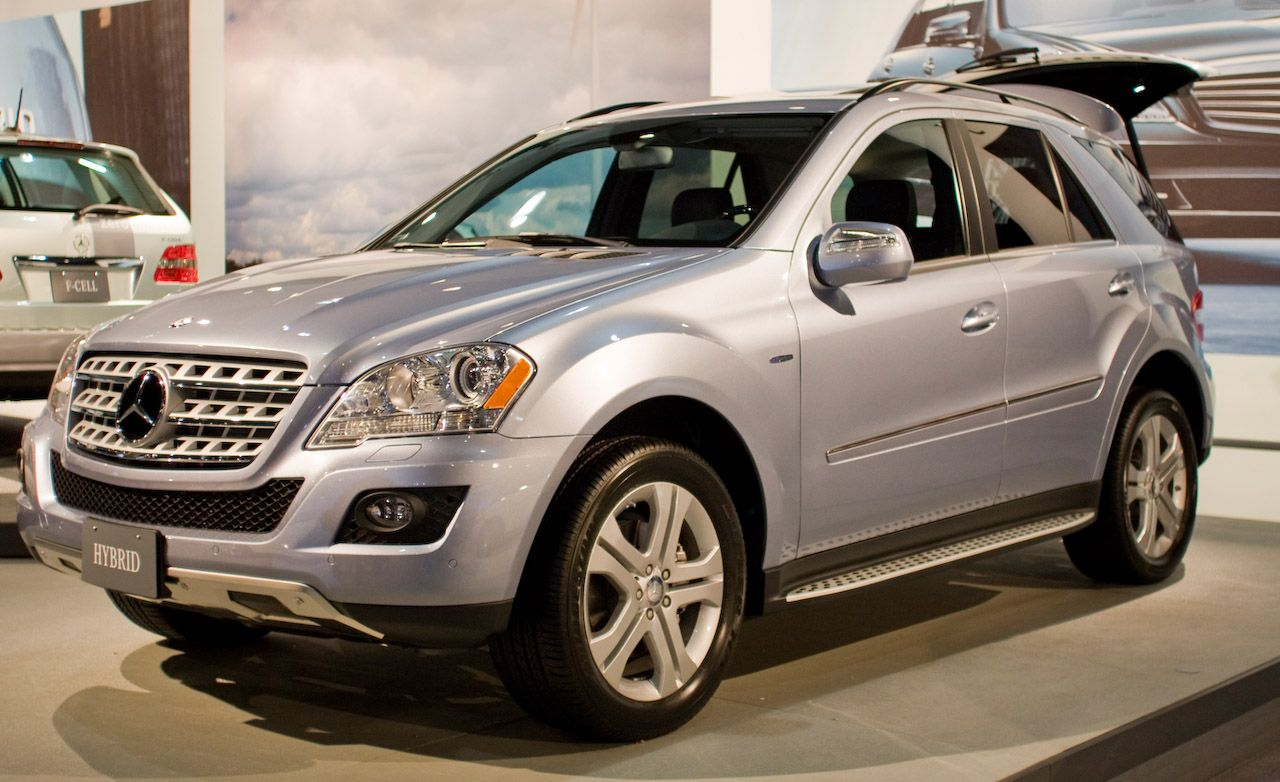 2010 Mercedes-Benz ML450 Hybrid