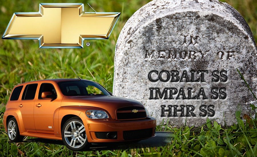 Chevrolet Impala SS, Cobalt SS, and HHR SS Models Dead