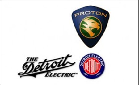 Detroit Electric and Proton Plan Electric Cars for U.S., Other Markets in 2010