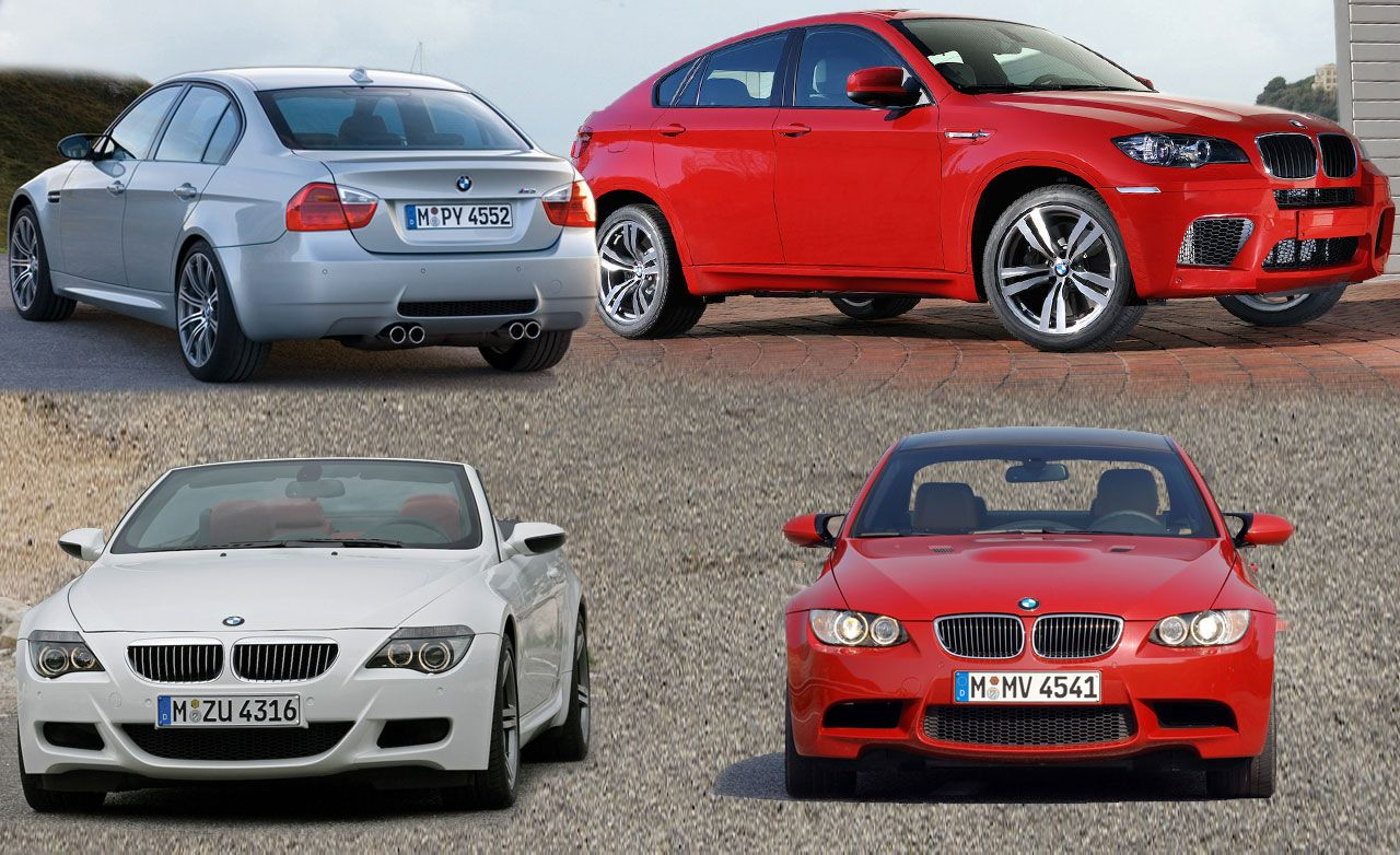 Future BMW M Models And The 2010 BMW X6 M / X5 M
