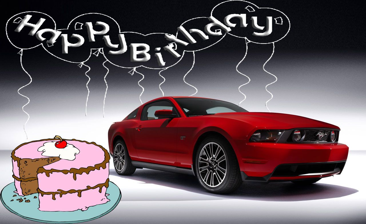 Happy 45th Birthday, Ford Mustang!