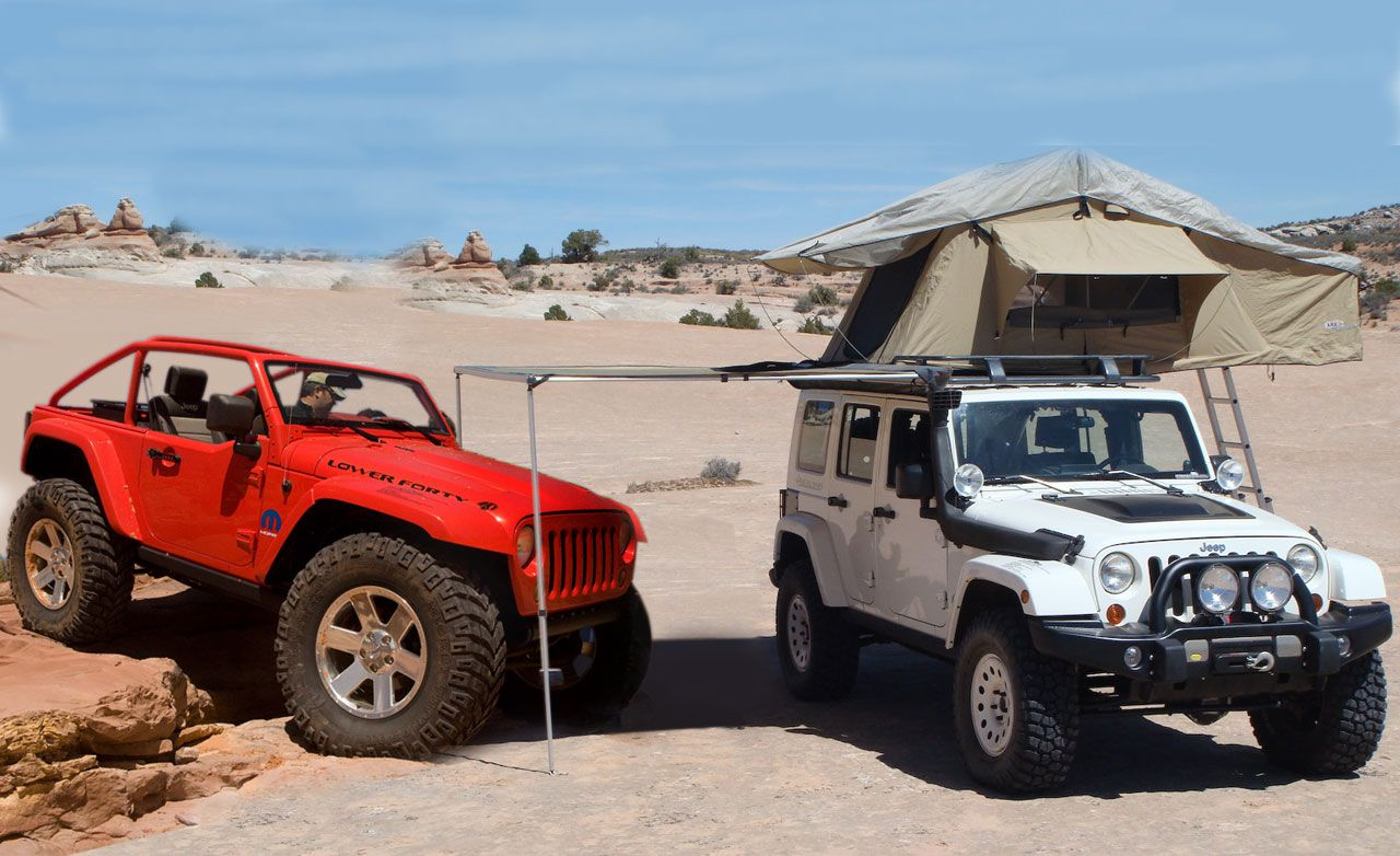 Jeep Lower Forty And Wrangler Overland Concepts