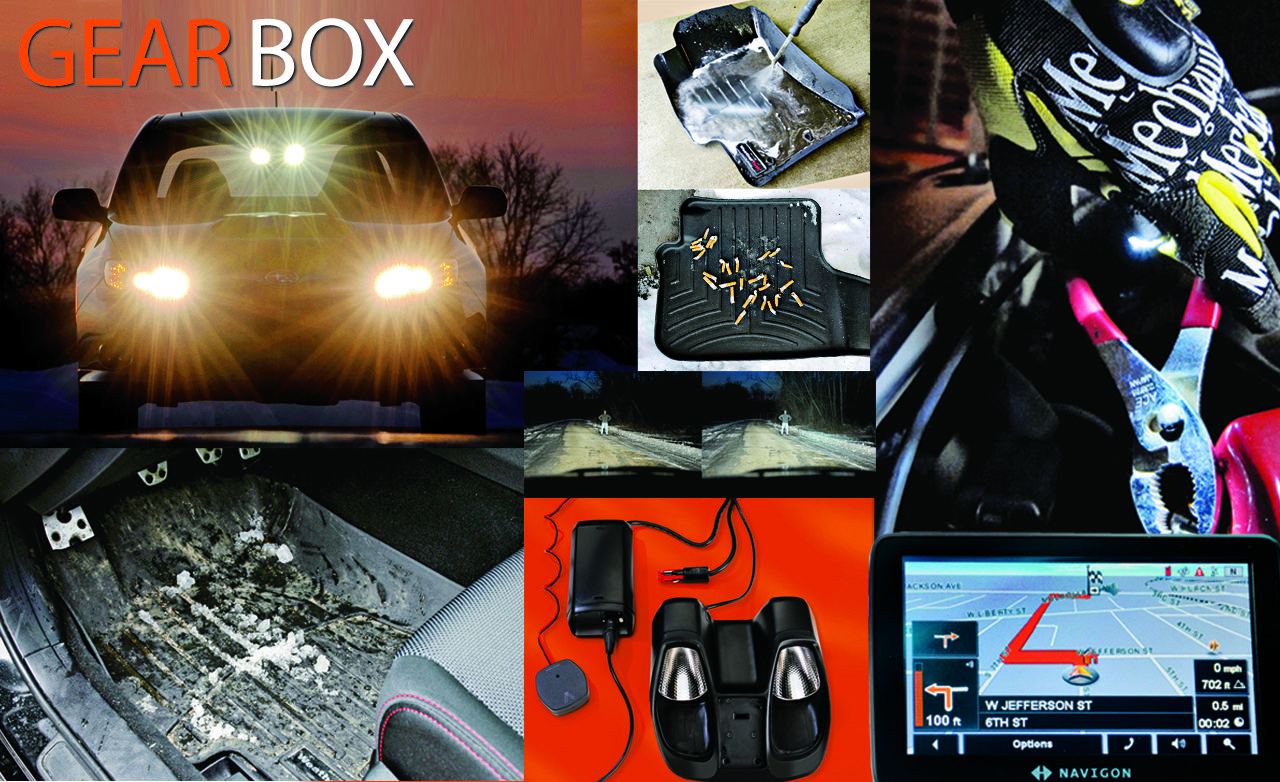 Automotive Accessories Reviews: Portable GPS, Floor Mats, and More