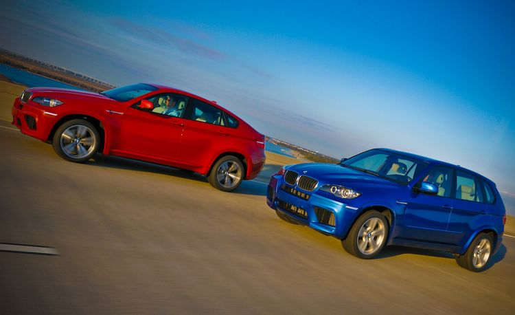 BMW X5 M and X6 Dynamic Performance Control Perks up Handling