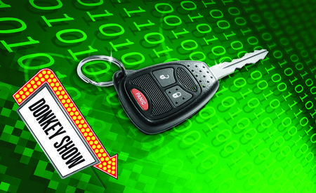 Can Thieves Steal Your Keyless-Entry Codes?