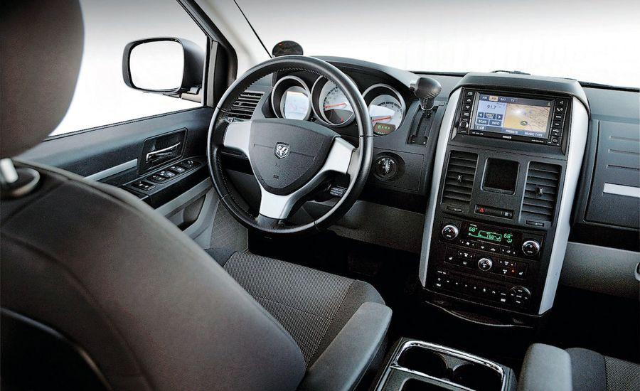 2008 Dodge Grand Caravan SXT – Review – Car and Driver