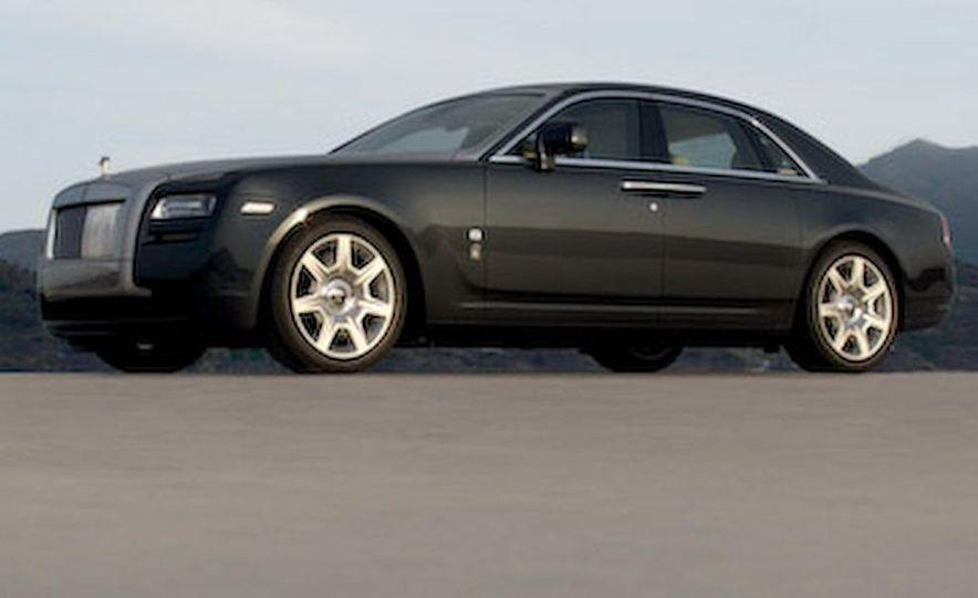2010 Rolls-Royce Ghost - Slide 50