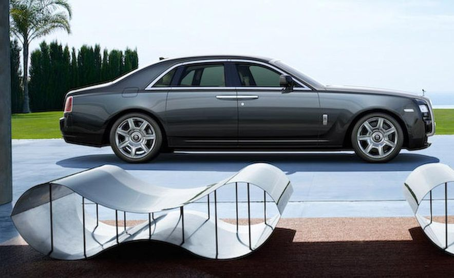 2010 Rolls-Royce Ghost - Slide 49