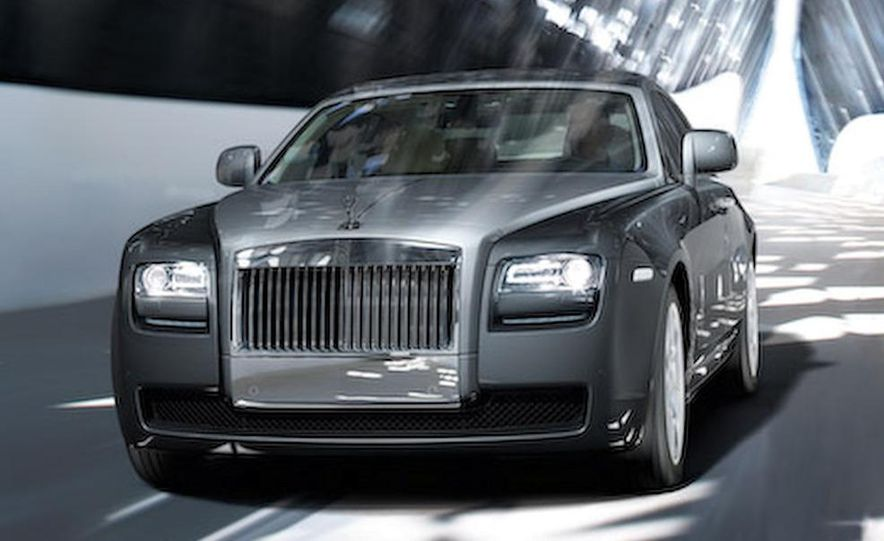 2010 Rolls-Royce Ghost - Slide 42