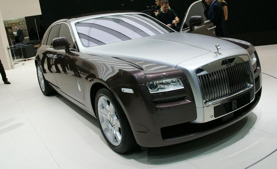 2010 Rolls-Royce Ghost - Slide 1