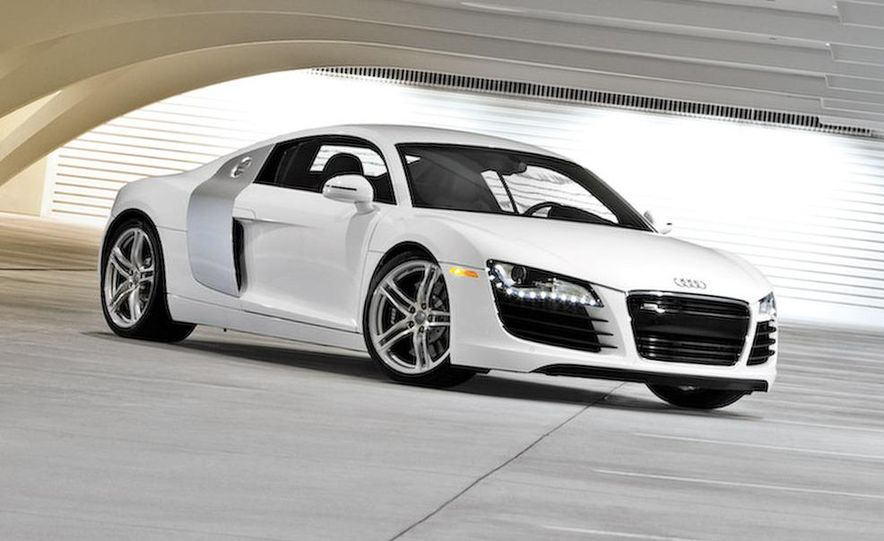 2011 Audi R8 Spyder 5.2 V-10 (spy photo) - Slide 16