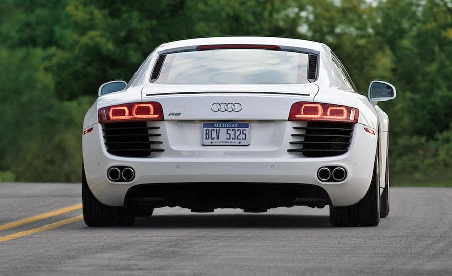 2011 Audi R8 Spyder 5.2 V-10 (spy photo) - Slide 19