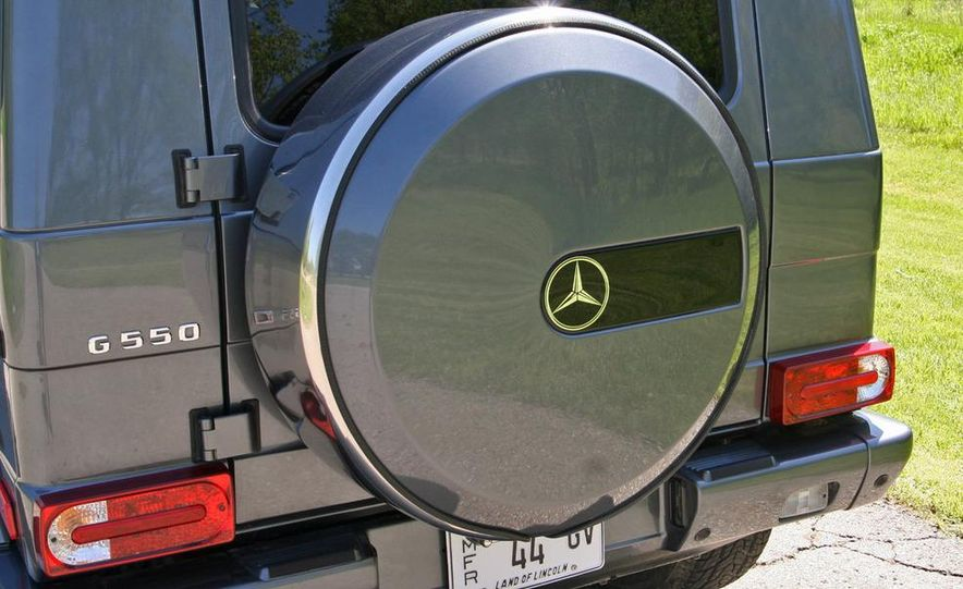 2009 Mercedes-Benz G550 - Slide 21