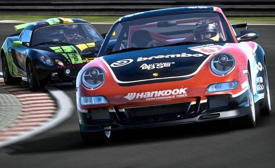 2009 BMW M3 GT2 and 2008 Porsche 911 GT3 RS screenshot - Slide 16