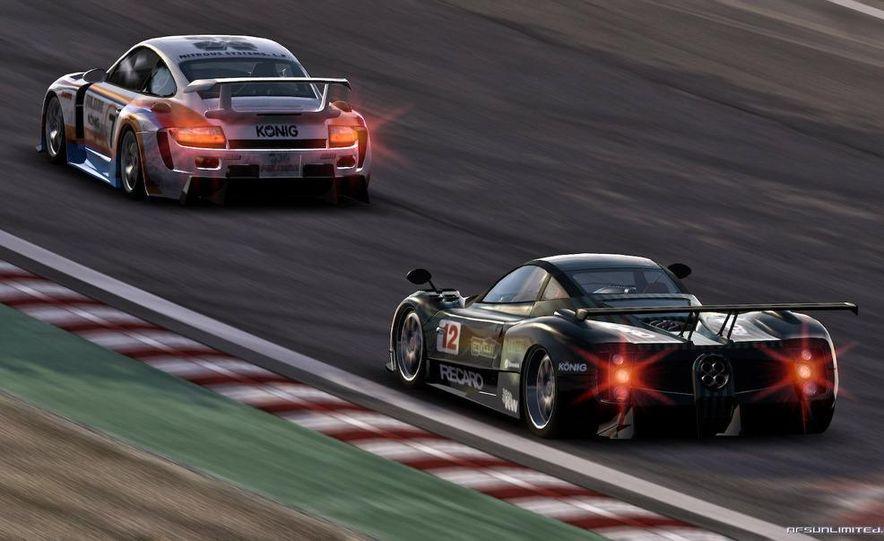 2009 BMW M3 GT2 and 2008 Porsche 911 GT3 RS screenshot - Slide 11