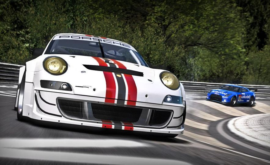 2009 BMW M3 GT2 and 2008 Porsche 911 GT3 RS screenshot - Slide 8