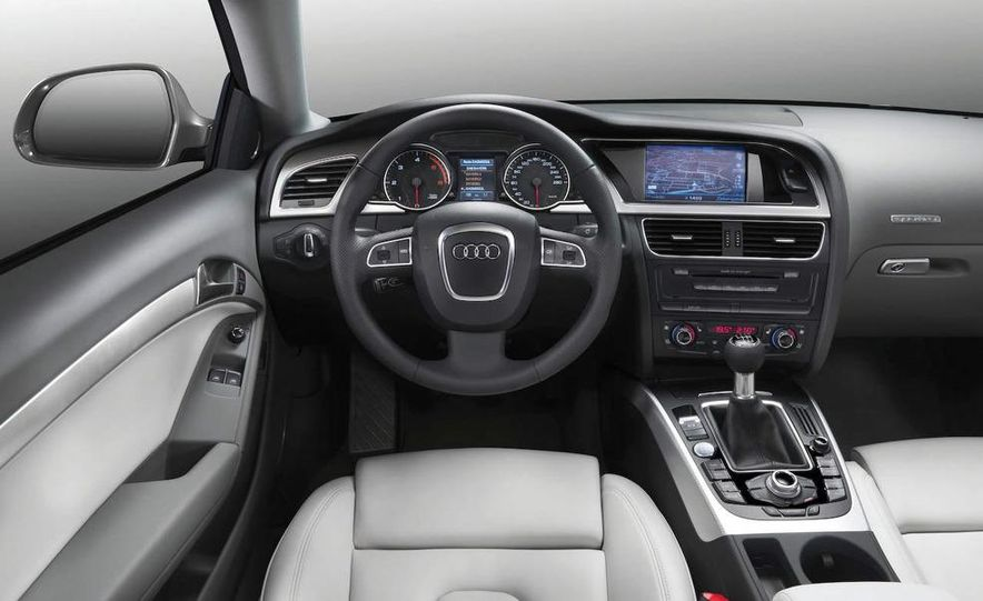 2008 Audi A5 2.7 TDI (European spec) interior - Slide 1