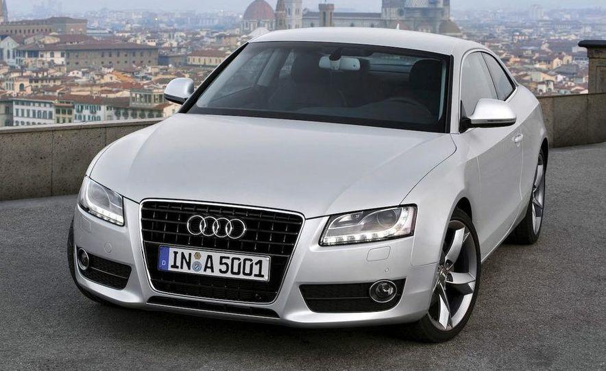 2008 Audi A5 2.7 TDI (European spec) interior - Slide 2