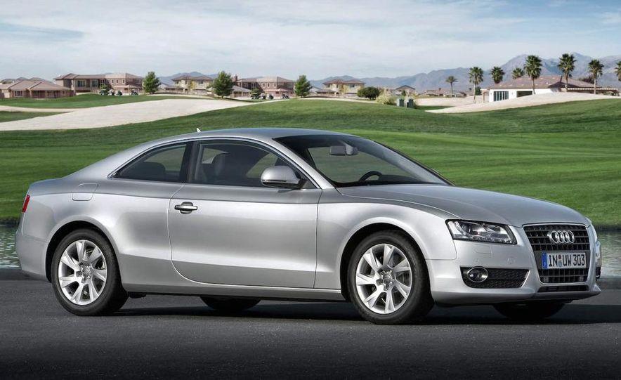 2008 Audi A5 2.7 TDI (European spec) interior - Slide 3