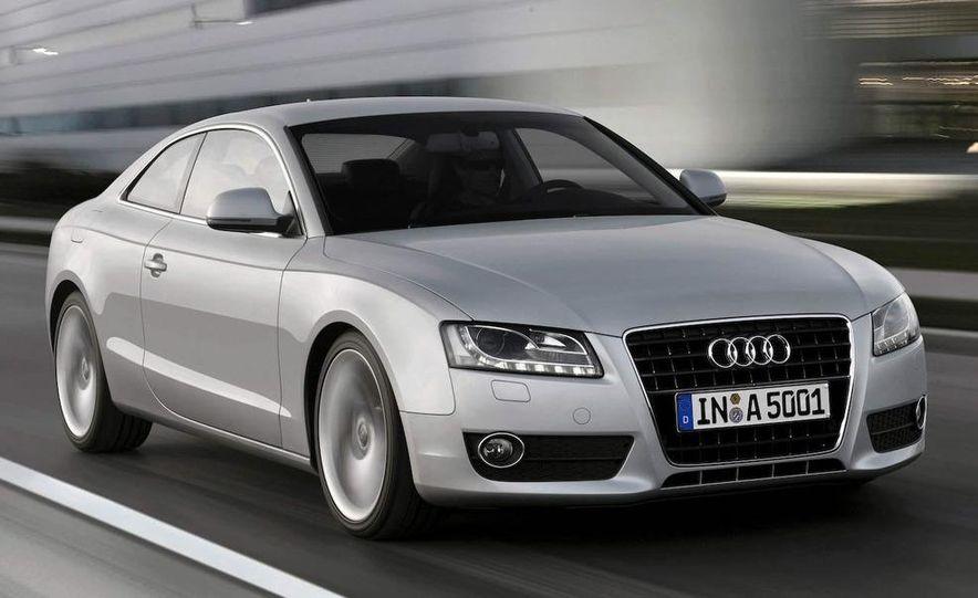 2008 Audi A5 2.7 TDI (European spec) interior - Slide 6