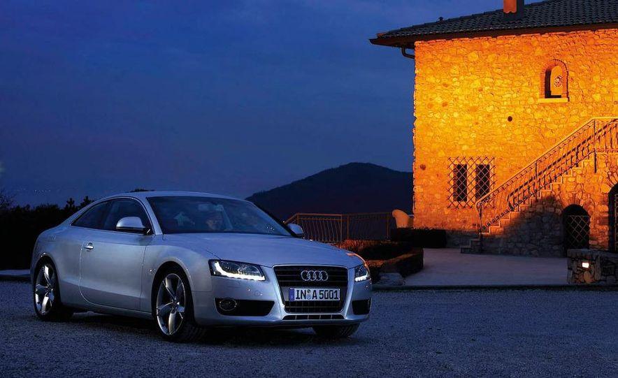 2008 Audi A5 2.7 TDI (European spec) interior - Slide 9