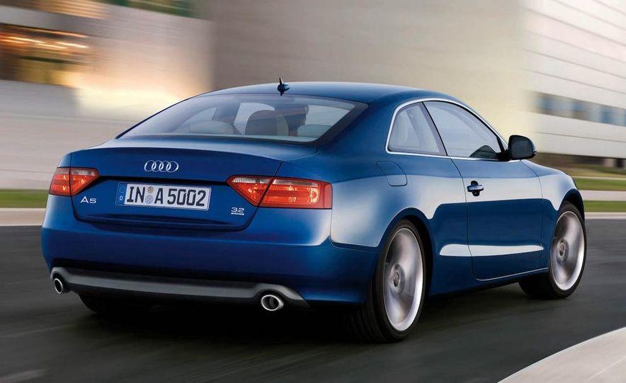 2008 Audi A5 2.7 TDI (European spec) interior - Slide 11