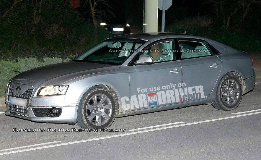 2008 Audi A5 2.7 TDI (European spec) interior - Slide 14