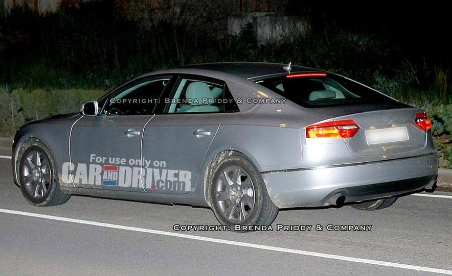 2008 Audi A5 2.7 TDI (European spec) interior - Slide 15