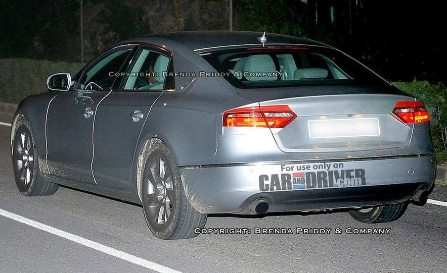 2008 Audi A5 2.7 TDI (European spec) interior - Slide 16