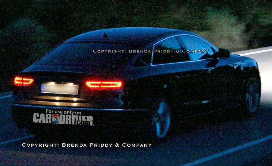 2008 Audi A5 2.7 TDI (European spec) interior - Slide 18