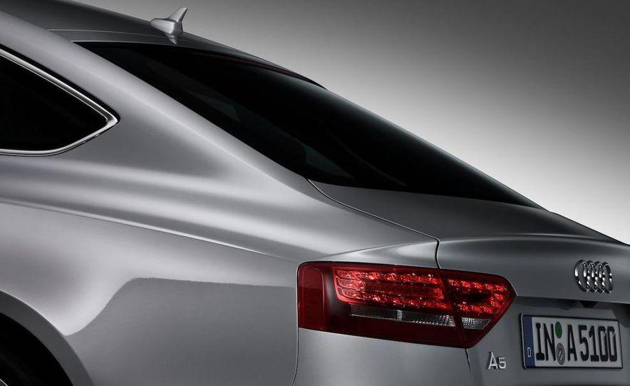 2008 Audi A5 2.7 TDI (European spec) interior - Slide 19