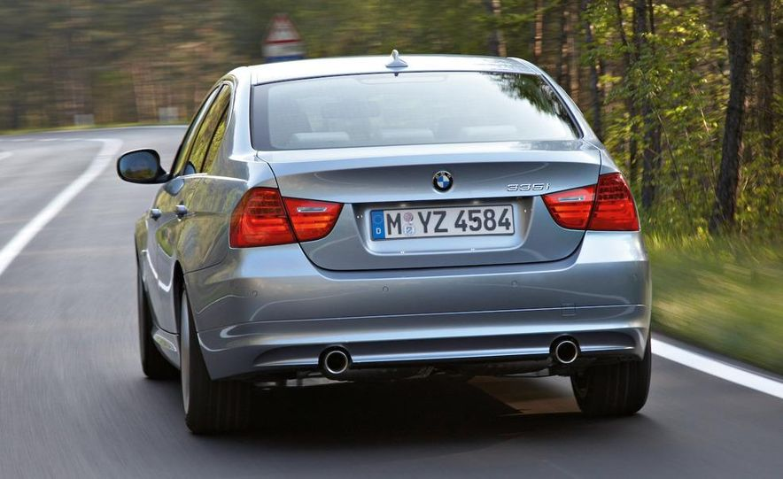 2012 BMW 3-series sedan (artist's rendering) - Slide 10