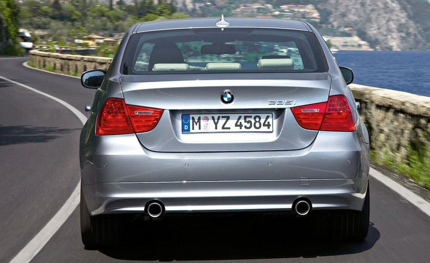 2012 BMW 3-series sedan (artist's rendering) - Slide 14