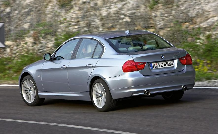 2012 BMW 3-series sedan (artist's rendering) - Slide 16