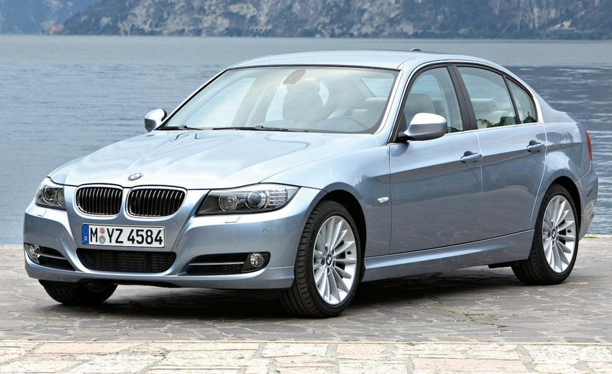 2012 BMW 3-series sedan (artist's rendering) - Slide 4