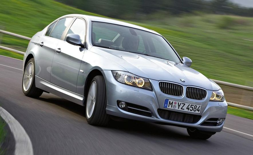 2012 BMW 3-series sedan (artist's rendering) - Slide 17