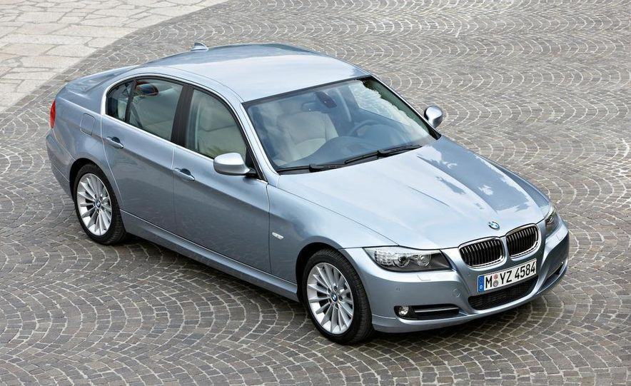 2012 BMW 3-series sedan (artist's rendering) - Slide 8