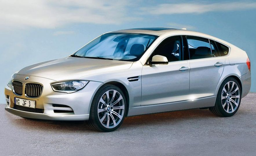 2012 BMW 3-series sedan (artist's rendering) - Slide 2