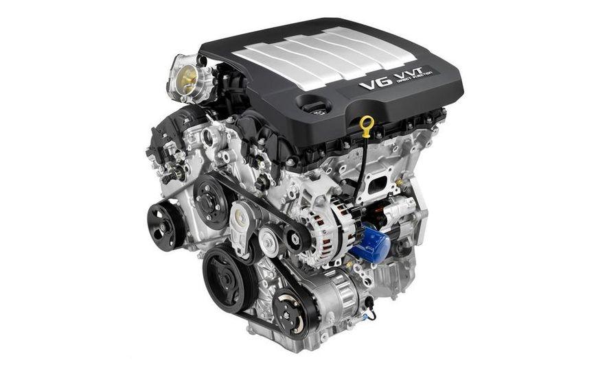 2010 Buick LaCrosse Hydra-Matic six-speed automatic transmission - Slide 2