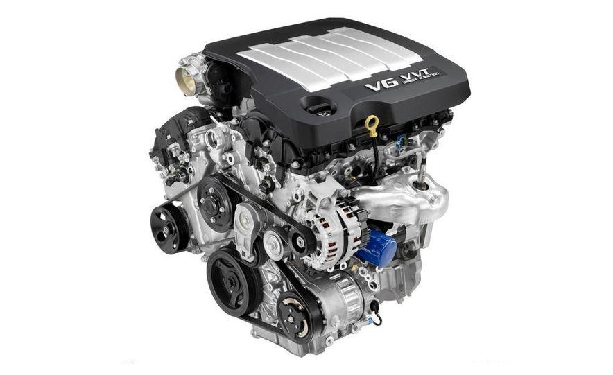 2010 Buick LaCrosse Hydra-Matic six-speed automatic transmission - Slide 3