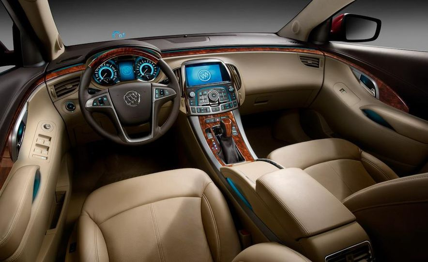 2010 Buick LaCrosse Hydra-Matic six-speed automatic transmission - Slide 10