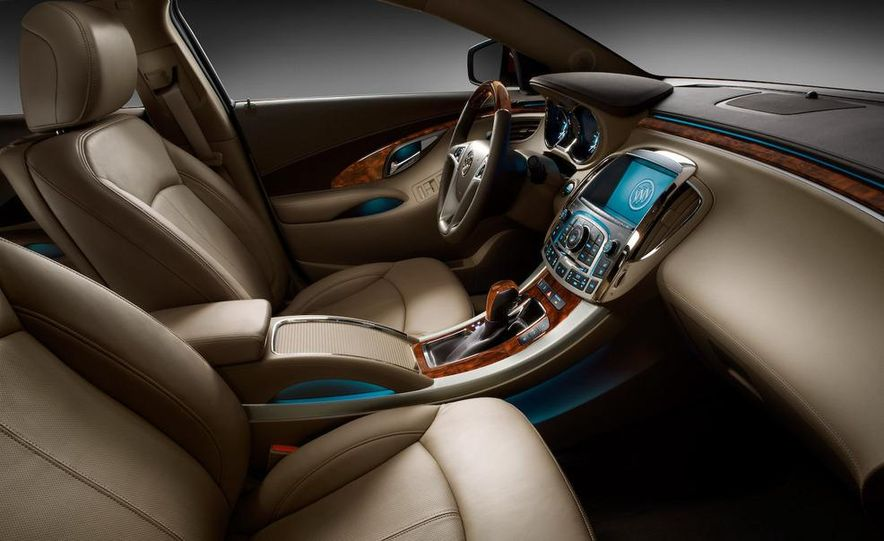 2010 Buick LaCrosse Hydra-Matic six-speed automatic transmission - Slide 11