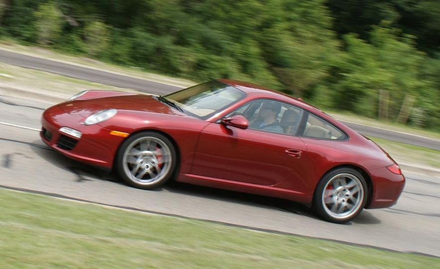 2009 Porsche 911 Carrera S manual wheel - Slide 5