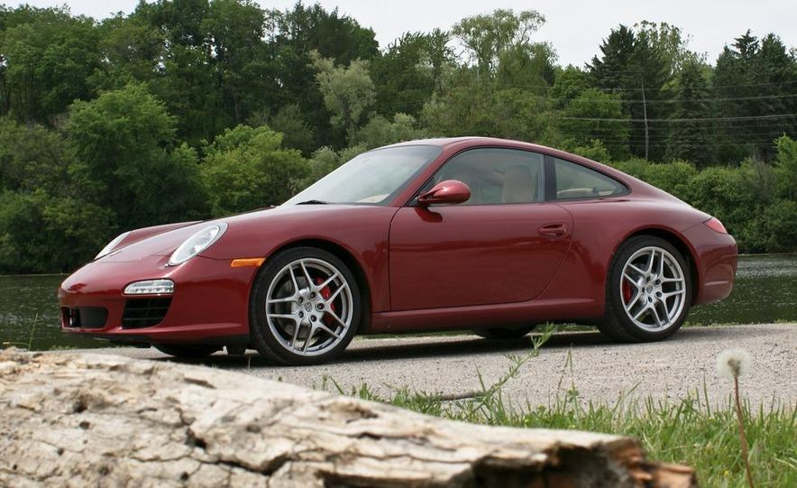 2009 Porsche 911 Carrera S manual wheel - Slide 8