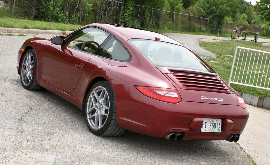 2009 Porsche 911 Carrera S manual wheel - Slide 10