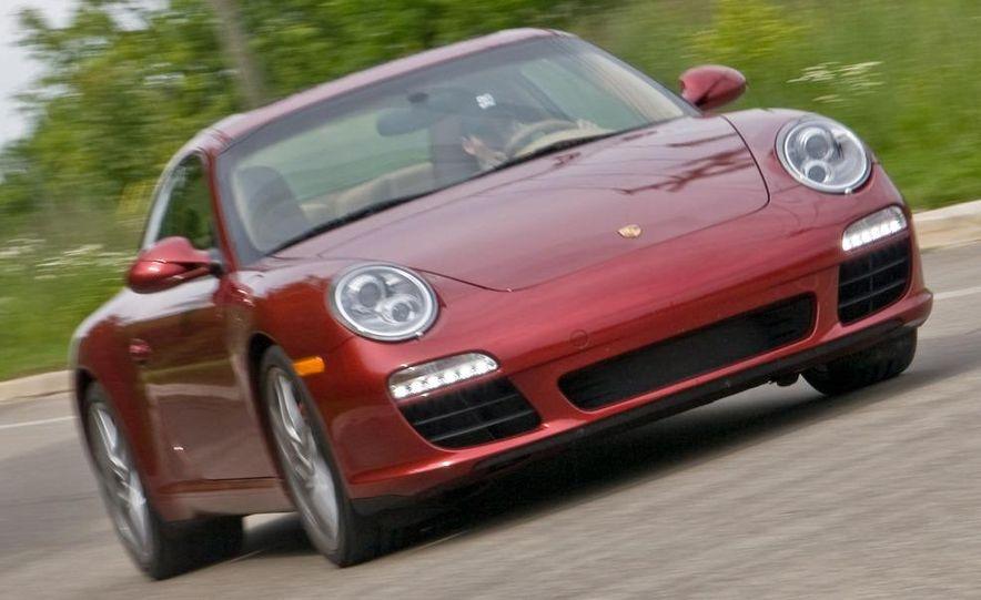 2009 Porsche 911 Carrera S manual wheel - Slide 14